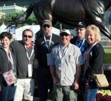 Group from Nebraska ready for an awesome day at the races