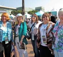 Sue Noel (Sun Valley Idaho), Darlene Daniels (Indiana), Debbie Godby (Kentucky), Dawn Conrad (Colorado), and Brenda S (Ontario)