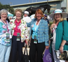Brenda S (Ontario), Sandy (NE Ohio), Sue Noel (Sun Valley ID), and Darlene Daniels (Indiana)
