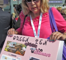 Auntie Judy (JAG) and her Queen Zen poster