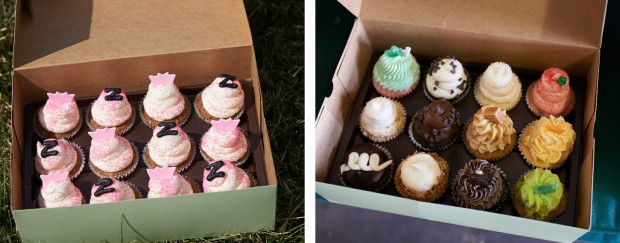 Cupcakes and more cupcakes.