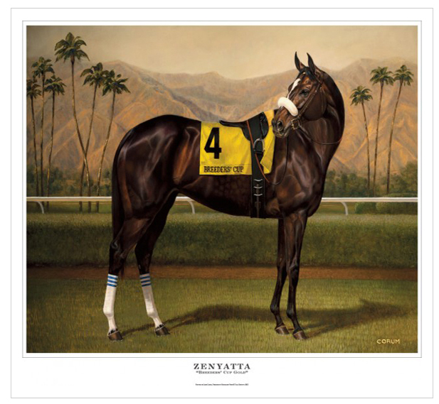"""Breeders' Cup Gold"" by Jamie Corum"