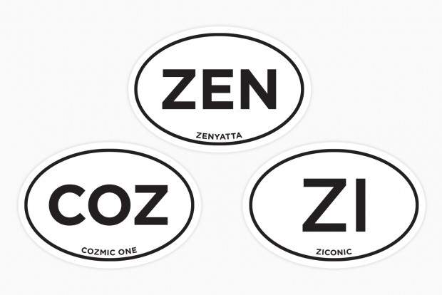 Cozmic One and Ziconic now have their own stickers!