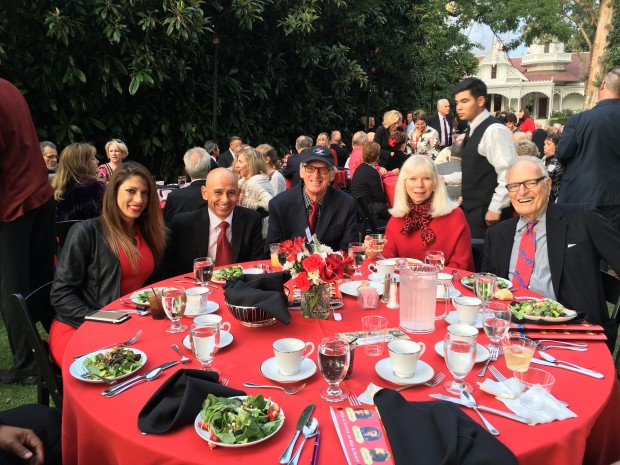 Members of Team Zenyatta attend the Walk of Champions Gala. Photo by Ann Moss.