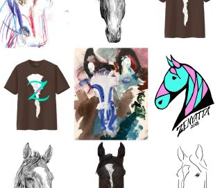 T-shirt design contest finalists.