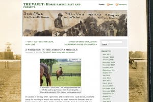 THE VAULT: Horse racing past and present